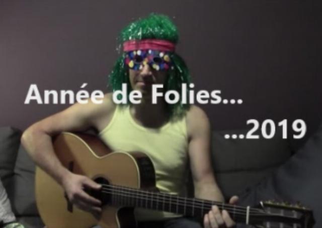 Bonne année 2019 (en chanson)